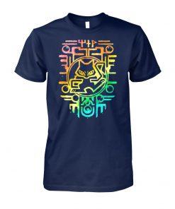 Rainbow chartres pokemon unisex cotton tee