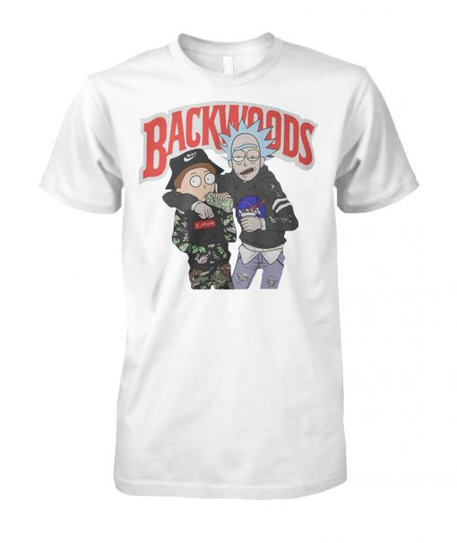 Rick and morty backwoods unisex cotton tee