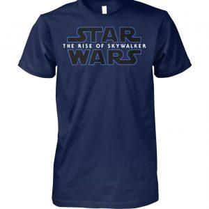 Star wars episode IX the rise of skywalker logo unisex cotton tee
