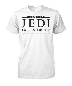 Star wars game jedi fallen order logo unisex cotton tee