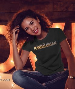 Star wars the mandalorian series logo shirt