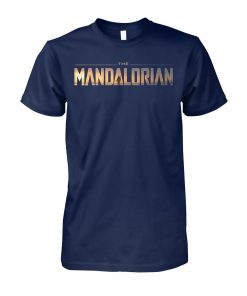 Star wars the mandalorian series logo unisex cotton tee