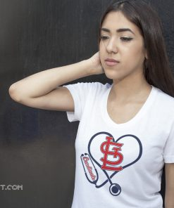 Stethoscope nurse arizona cardinals shirt