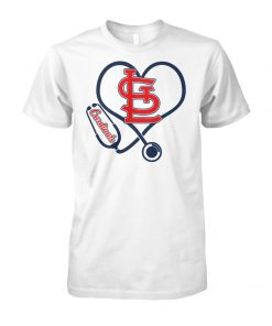 Stethoscope nurse arizona cardinals unisex cotton tee