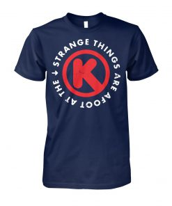 Strange things are afoot at the circle-k unisex cotton tee