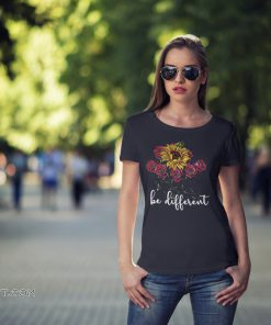 Sunflower and roses be different shirt