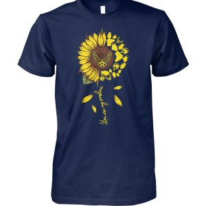 Sunflower you are my sunshine US air force unisex cotton tee