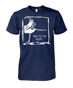 Talk to the hoof horse lovers unisex cotton tee