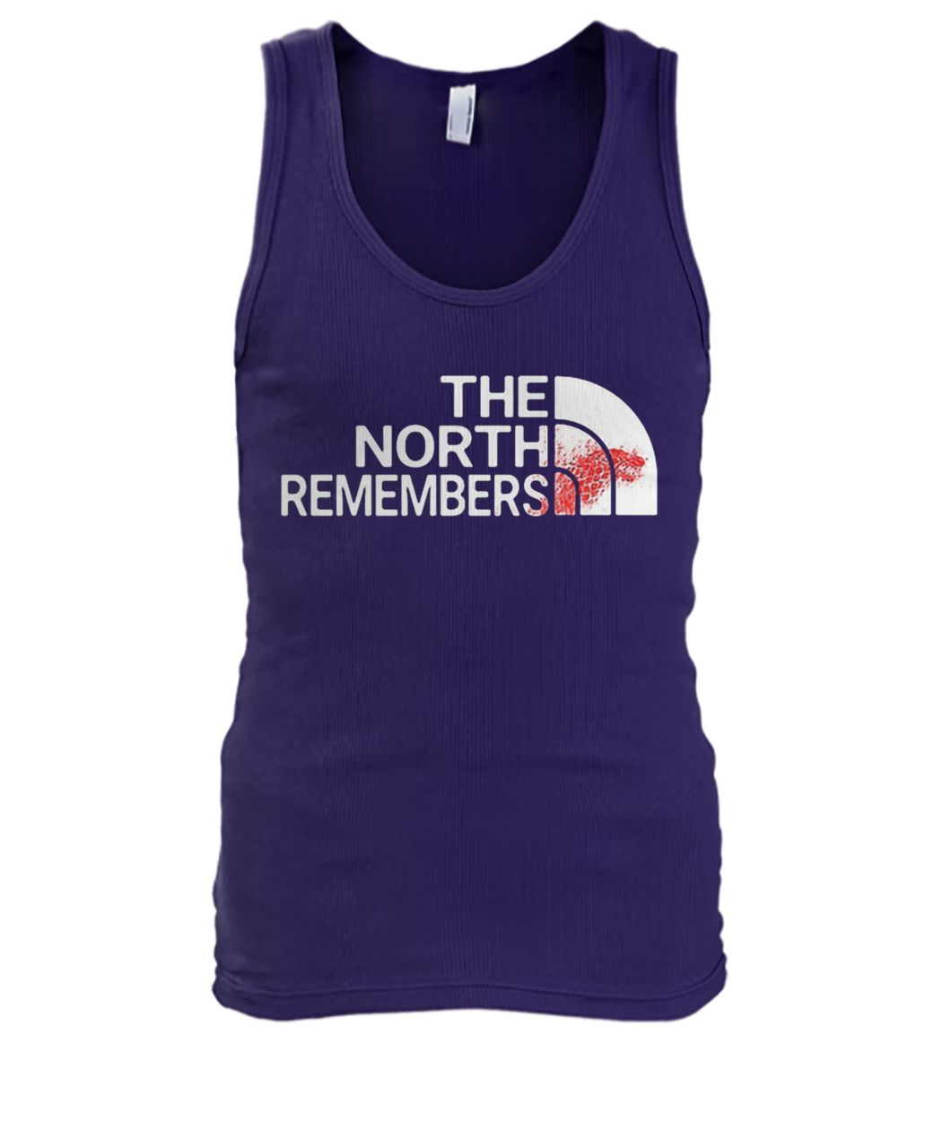 The north remembers men's tank top