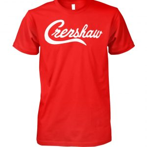 Tiger woods crenshaw unisex cotton tee