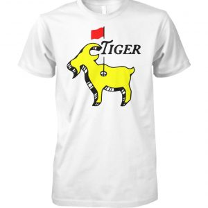 Tiger woods goat masters unisex cotton tee