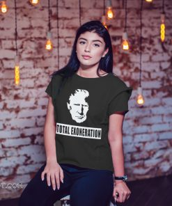 Trump illustration total exoneration exonerated shirt