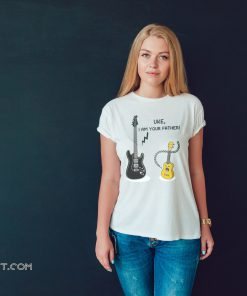 Ukulele and guitar uke I am your father shirt