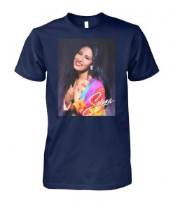 Vintage selena big fan la reina american singer unisex cotton tee