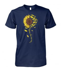 You are my sunshine horse sunflower unisex cotton tee