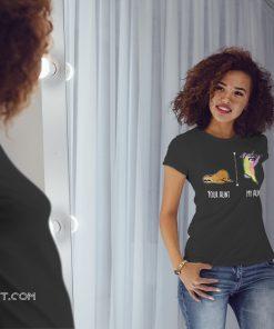 Your aunt my aunt sloth unicorn shirt