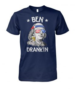 4th of july ben drankin benjamin franklin unisex cotton tee