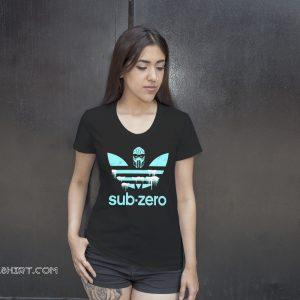 Adidas mortal kombat sub-zero shirt