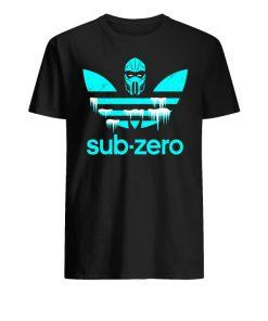 Adidas mortal kombat sub-zero unisex cotton tee