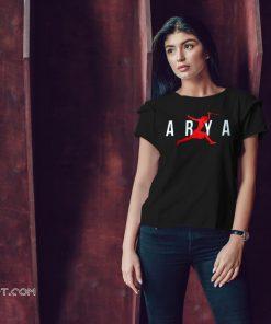 Air arya stark game of thrones shirt