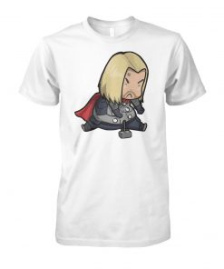 Avenger endgame fat thor ugly marvel unisex cotton tee