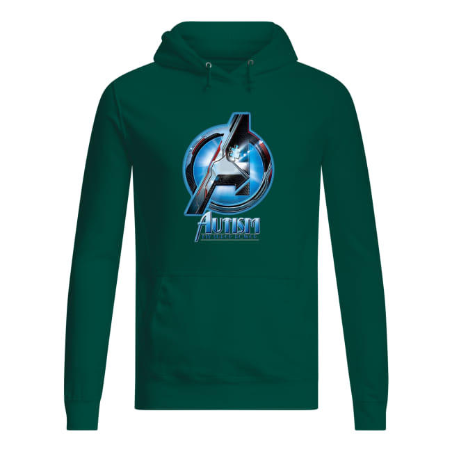 Avengers autism awareness my super power hoodie