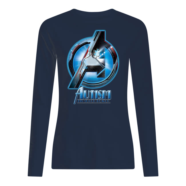 Avengers autism awareness my super power longsleeve