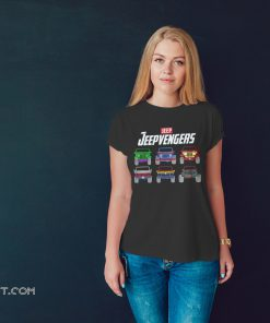 Avengers end game jeepvengers shirt