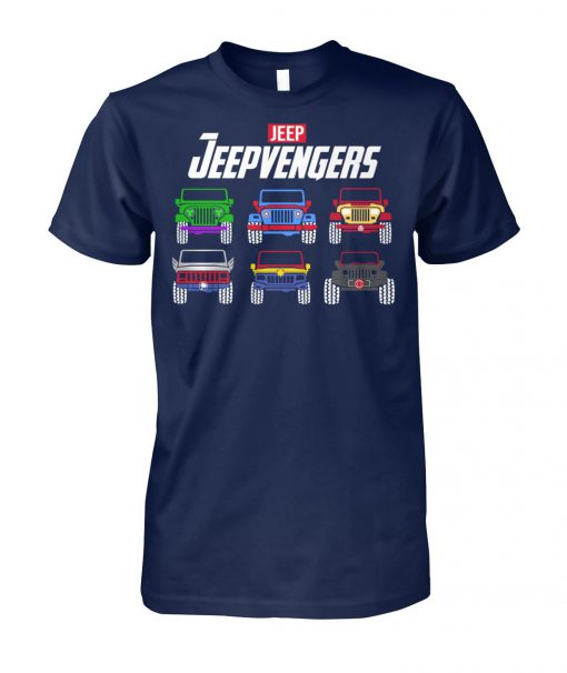 Avengers end game jeepvengers unisex cotton tee