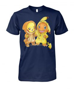 Baby pikachu hitokage charmander costume unisex cotton tee