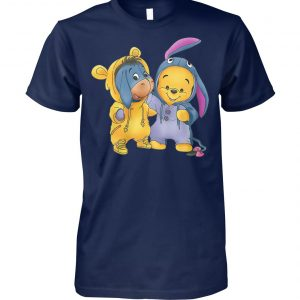 Baby pooh and eeyore winnie the pooh unisex cotton tee