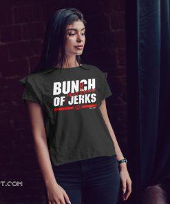 Carolina hurricanes bunch of jerks front running shirt