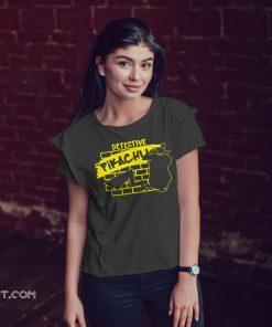 Detective pikachu grafitti shirt