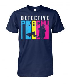 Detective pikachu stretch unisex cotton tee