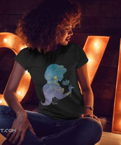 Disney aladdin live action princess jasmine jewelry shirt