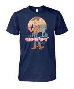 Disney pixar toy story 4 sheriff woody hey howdy hey unisex cotton tee