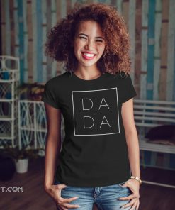 Father's day dada square shirt