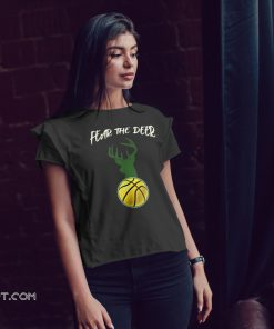 Fear the deer basketball shirt