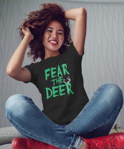 Fear the deer milwaukee basketball bucks shirt