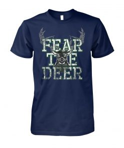 Fear the deer unisex cotton tee