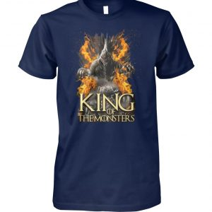 Game of thrones godzilla king of the monsters unisex cotton tee