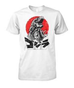 Godzilla king of the monsters unisex cotton tee