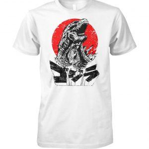 Godzilla king of the monsters unisex cotton tee