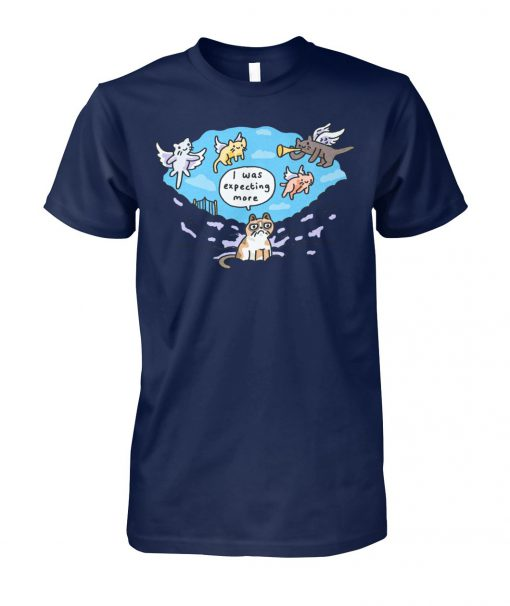 Grumpy cat I was expecting more unisex cotton tee