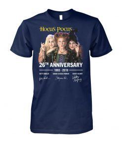 Hocus pocus 26th anniversary 1993 2019 signature unisex cotton tee