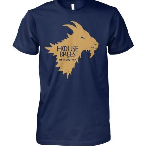 House brees game of thrones unisex cotton tee