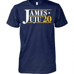 James juju for president 2020 unisex cotton tee