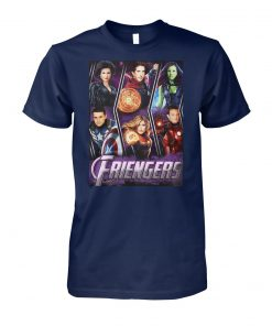 Marvel avengers endgame friengers friend unisex cotton tee