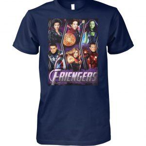 Marvel avengers endgame friengers friend unisex cotton tee