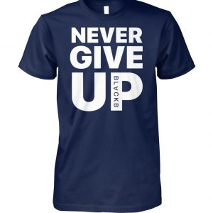 Mohamed never give up salah-victory soccer winning unisex cotton tee